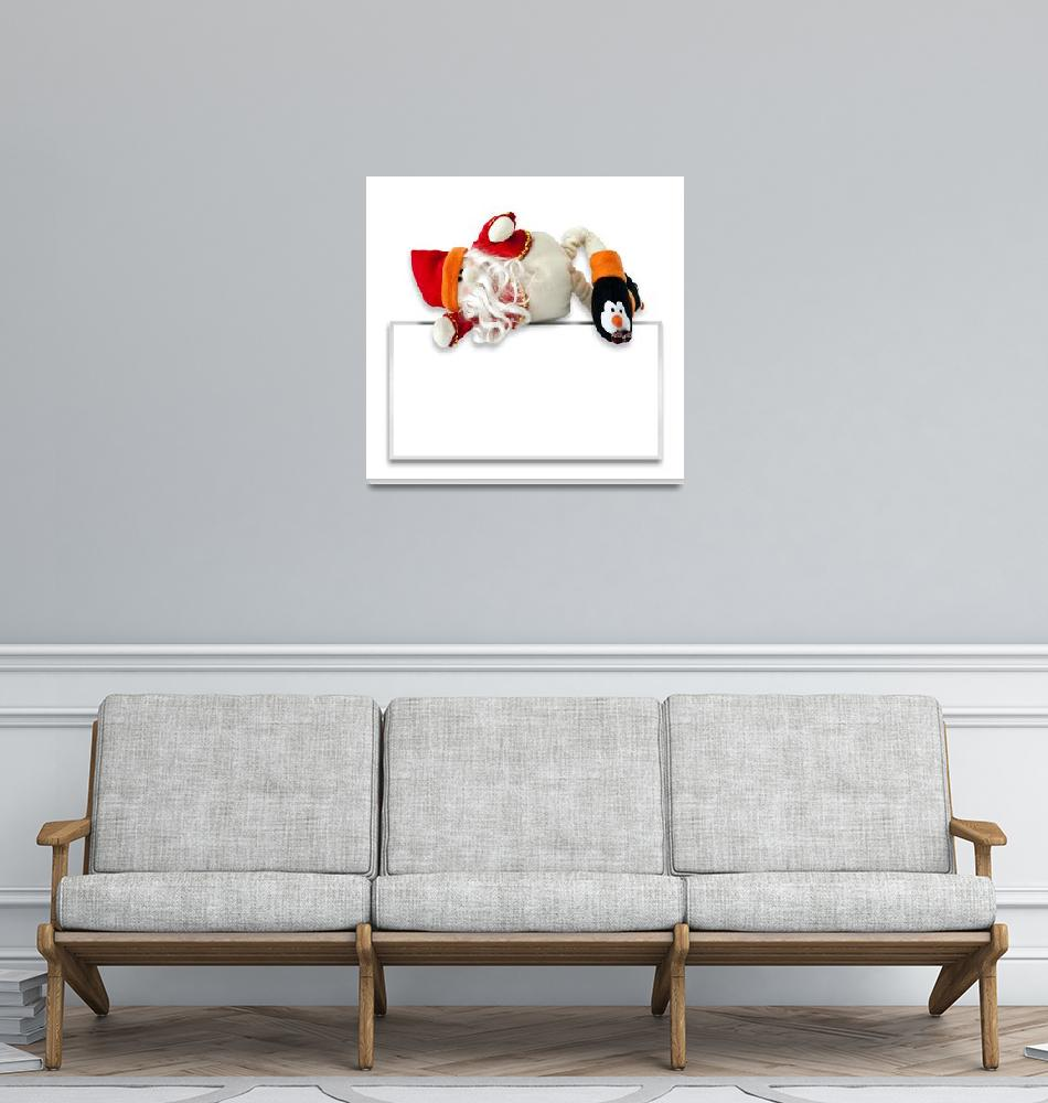 """""""Ticket with Santa Claus""""  by fotofollia"""