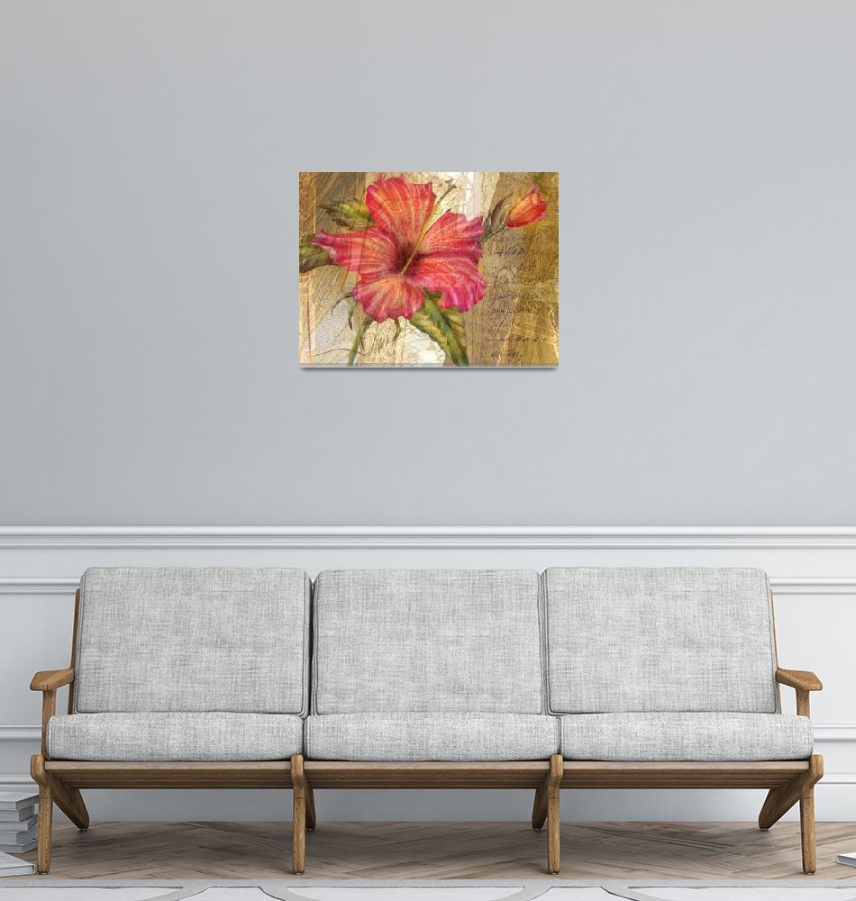 """""""Golden Hibiscus""""  (2008) by AlmaLee"""