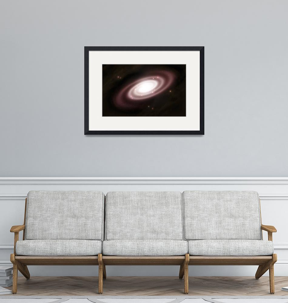 """""""A very old spiral galaxy""""  by stocktrekimages"""
