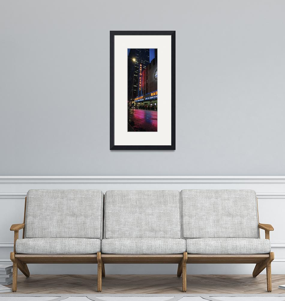 """Radio City Vertical Panorama""  (2007) by MarcJ"