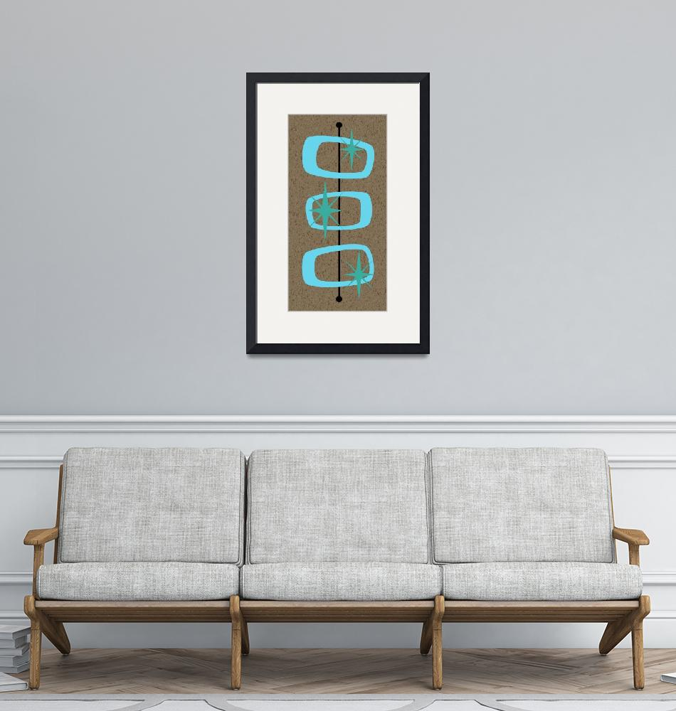 """Mid Century Modern Shapes 1"" by DMibus"