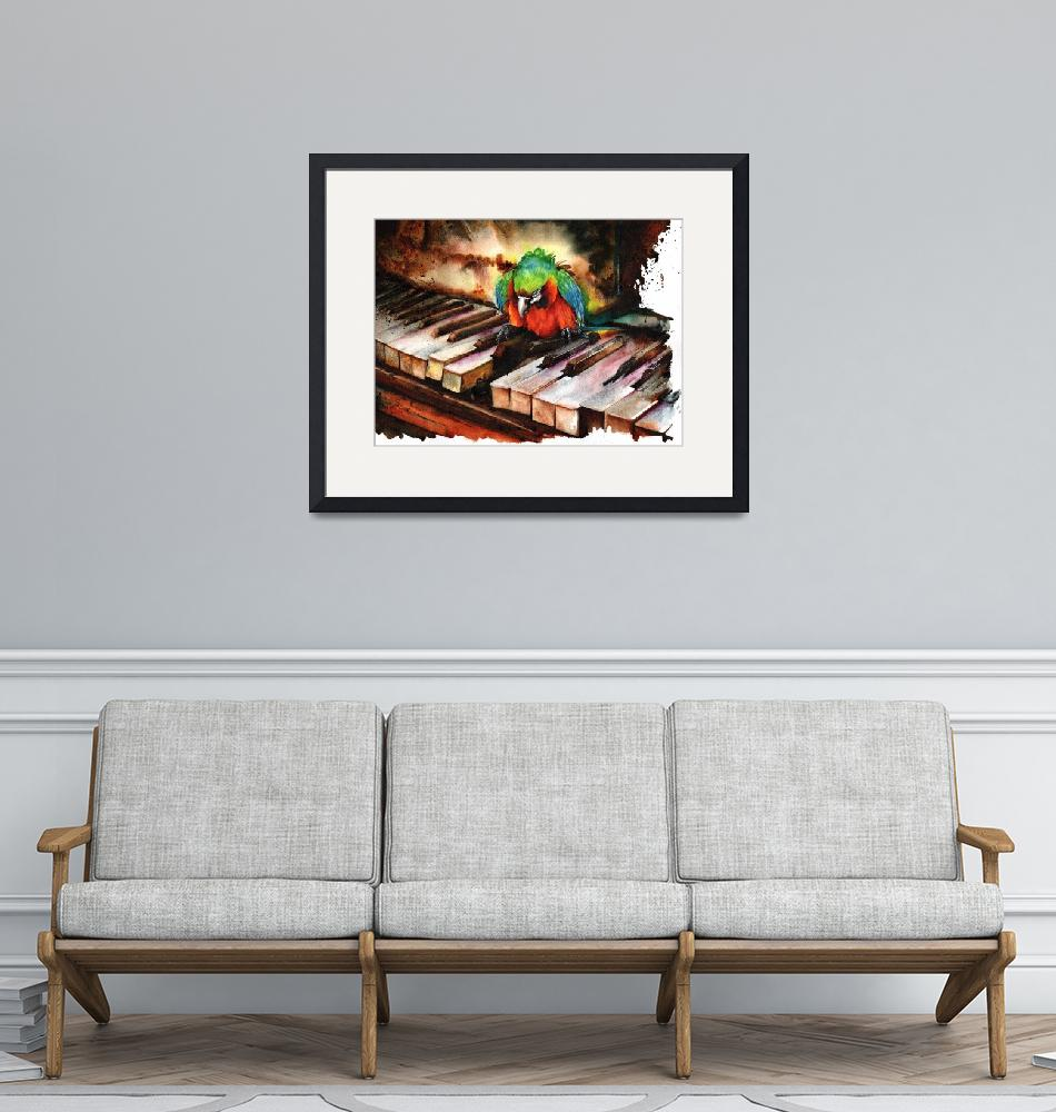 """""""All The Right Notes But Not in the Right Order""""  (2013) by MightyFineArt"""