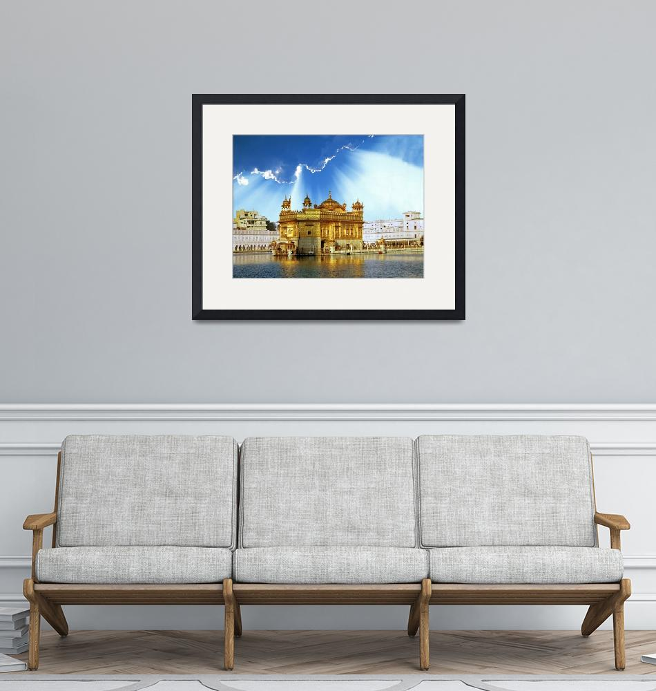 """""""Golden Temple Shining Clouds""""  by SikhPhotos"""