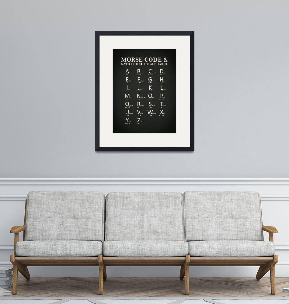"""""""Morse Code And Phonetic Alphabet""""  by mark-rogan"""