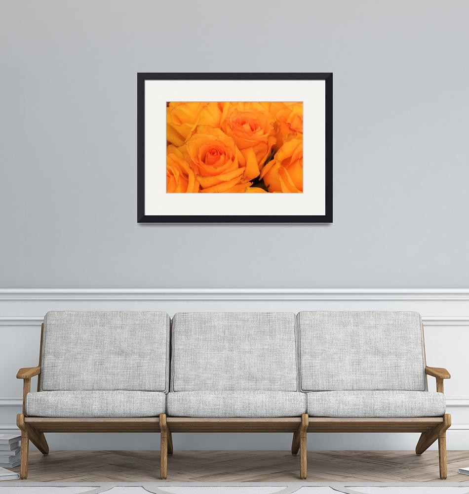 """""""Yellow Rose Bouquet""""  (2015) by rhamm"""