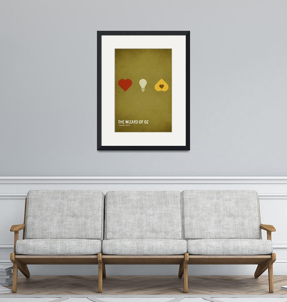 """""""The Wizard of Oz (Kid Friendly)""""  (2010) by squareinchdesign"""