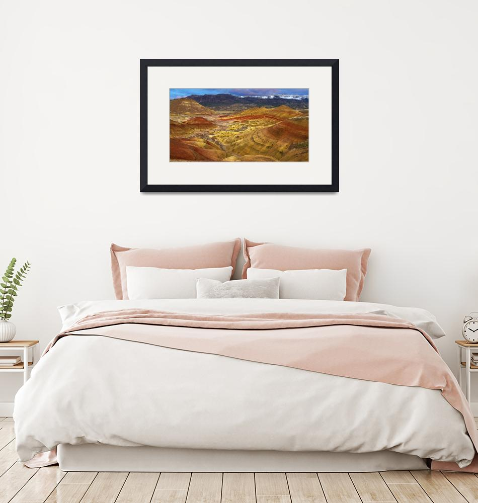 """""""Painted Hills_After the Storm""""  (2010) by aphimages"""