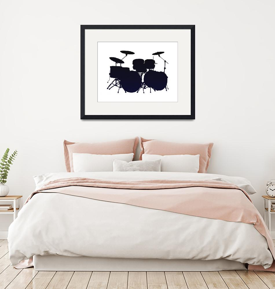 """""""Musical Instrument  Art Poster for Teen Bedroom -""""  by motionage"""