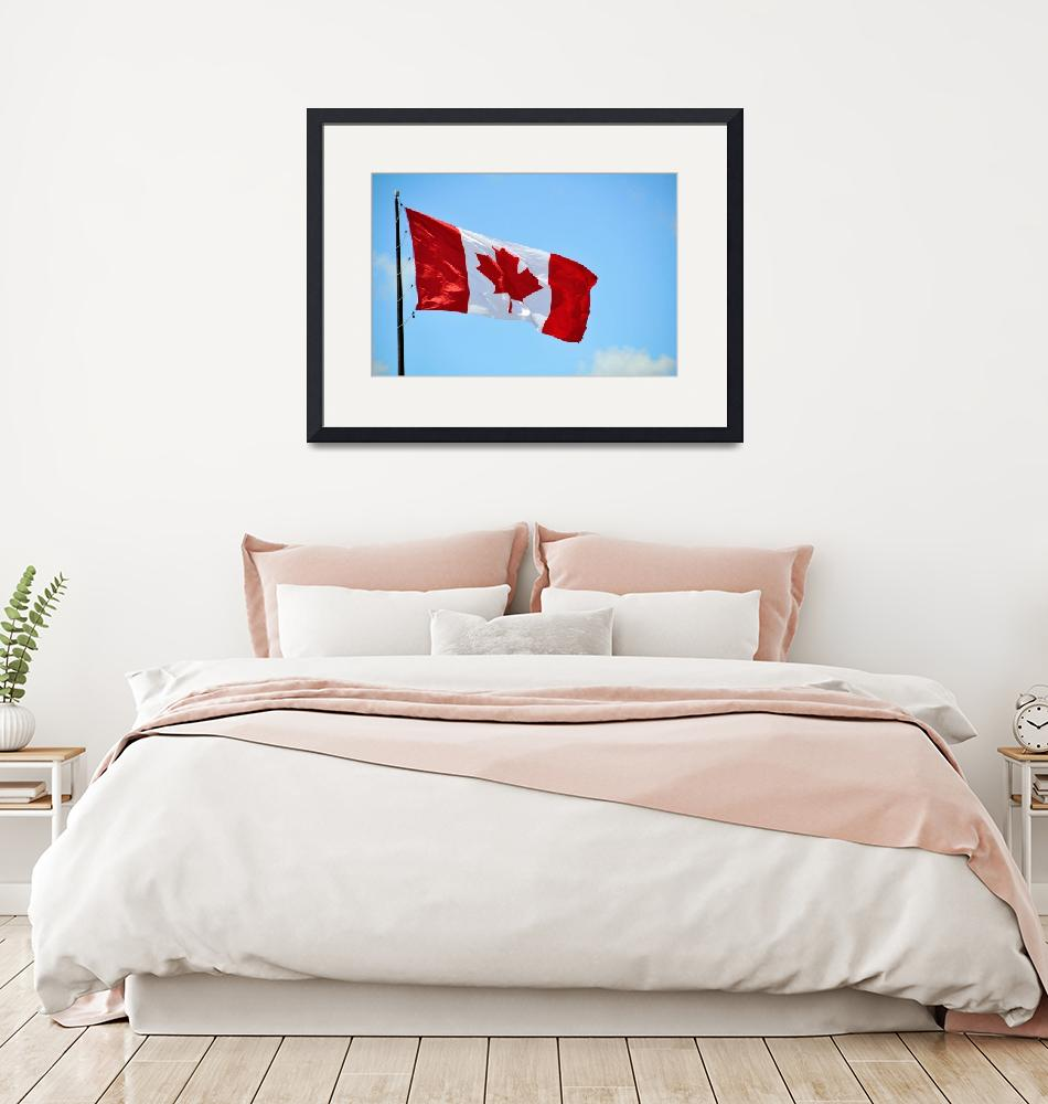 """""""Canadian Flag""""  (2010) by AndreHugosPlace"""