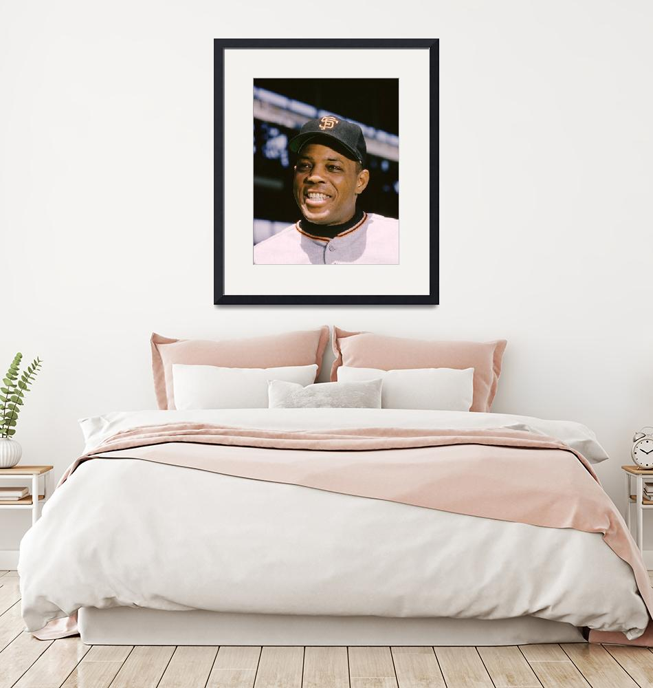 """""""Say Hey Willie Mays""""  by RetroImagesArchive"""