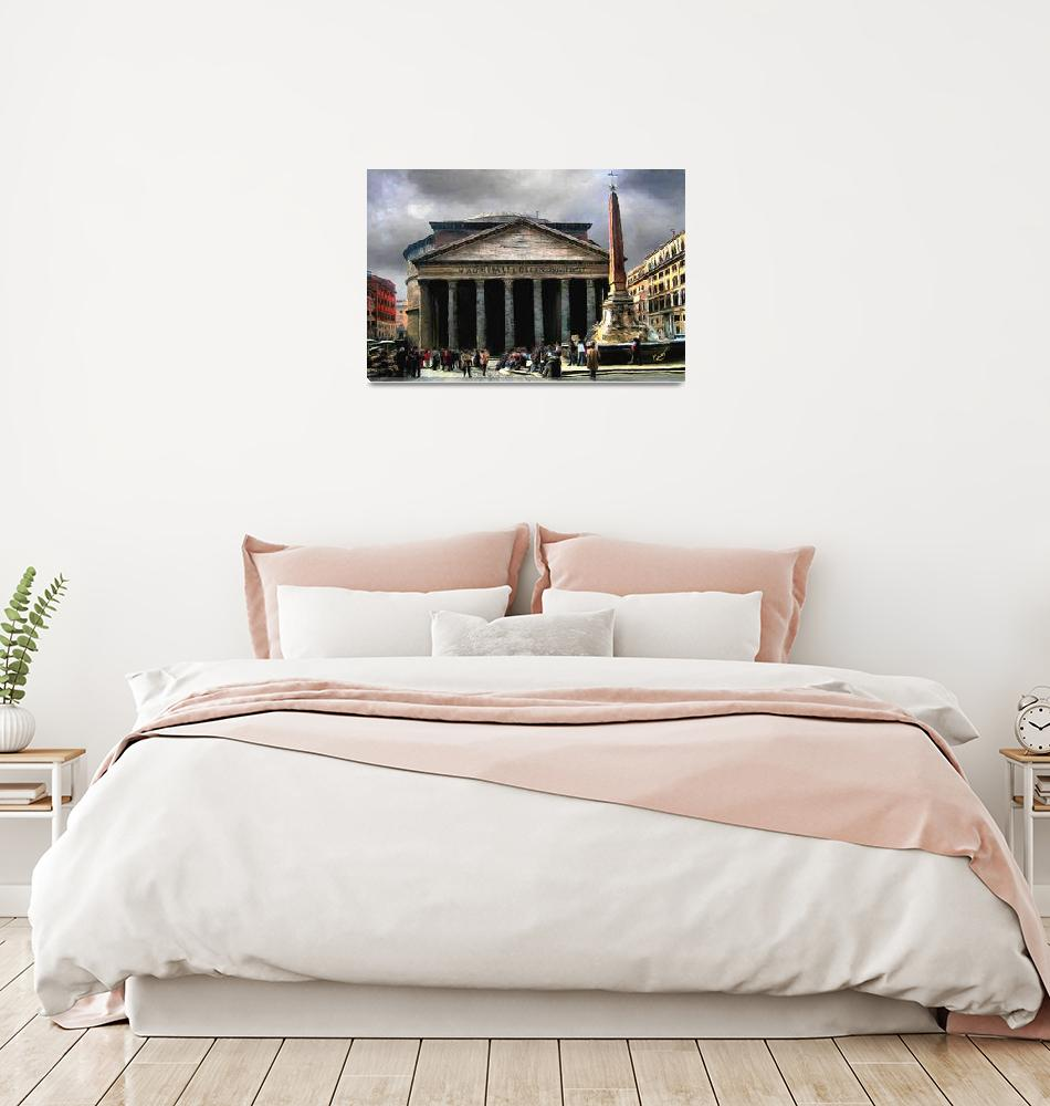 """""""Roman Pantheon""""  (2009) by knightvision"""