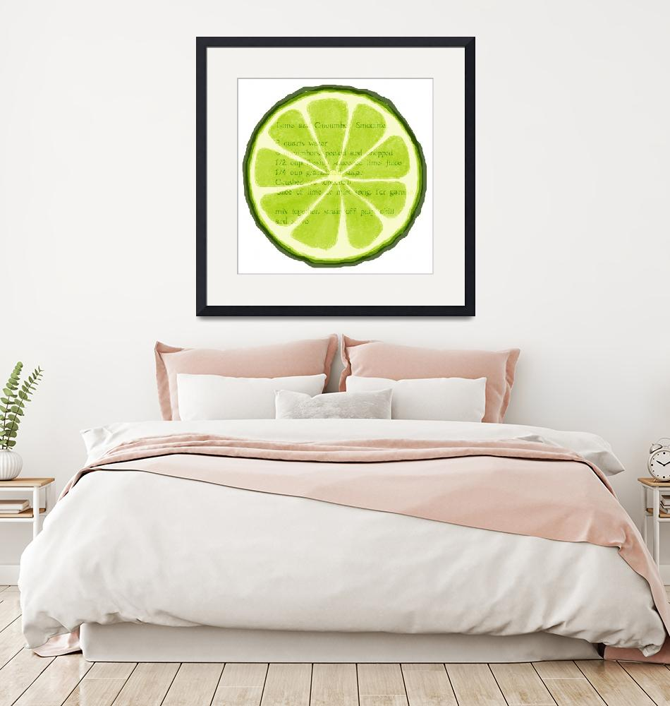 """""""Lime"""" (2013) by lucylane"""