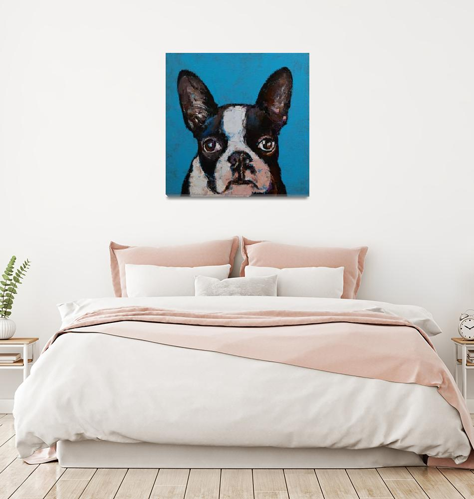 """Boston Terrier""  by creese"