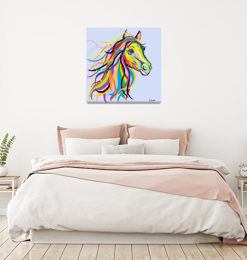 """""""Horse of a Different Color""""  by EloiseArt"""