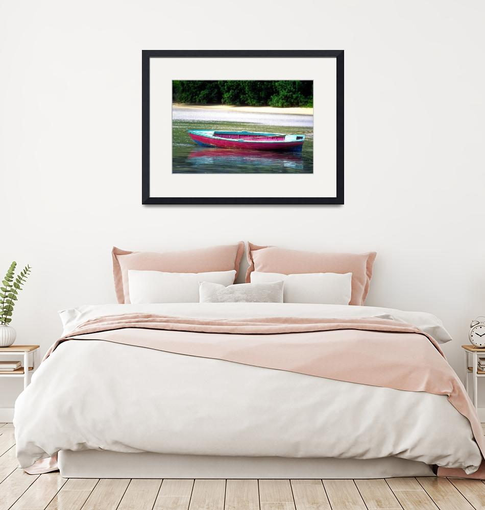 """""""Pink Boat""""  (1997) by JoaoPonces"""