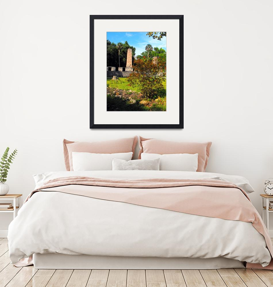 """""""Old Sugar Mill Ruins""""  (2008) by ChrisCrowley"""