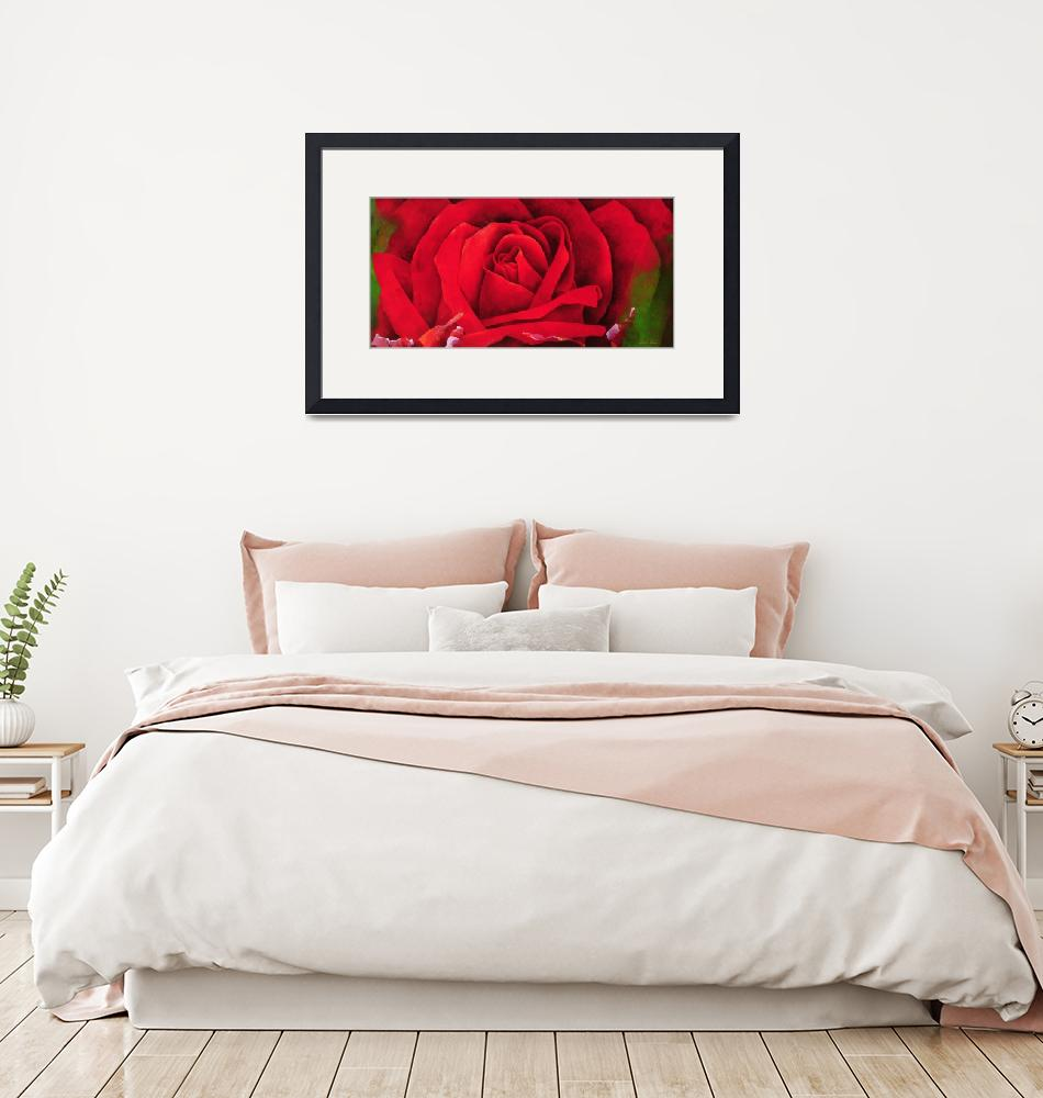 """""""The Rose, 1997""""  by fineartmasters"""