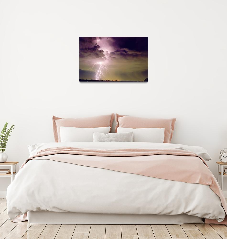 """Sydney Staccato Lightning""  (1994) by lightning"