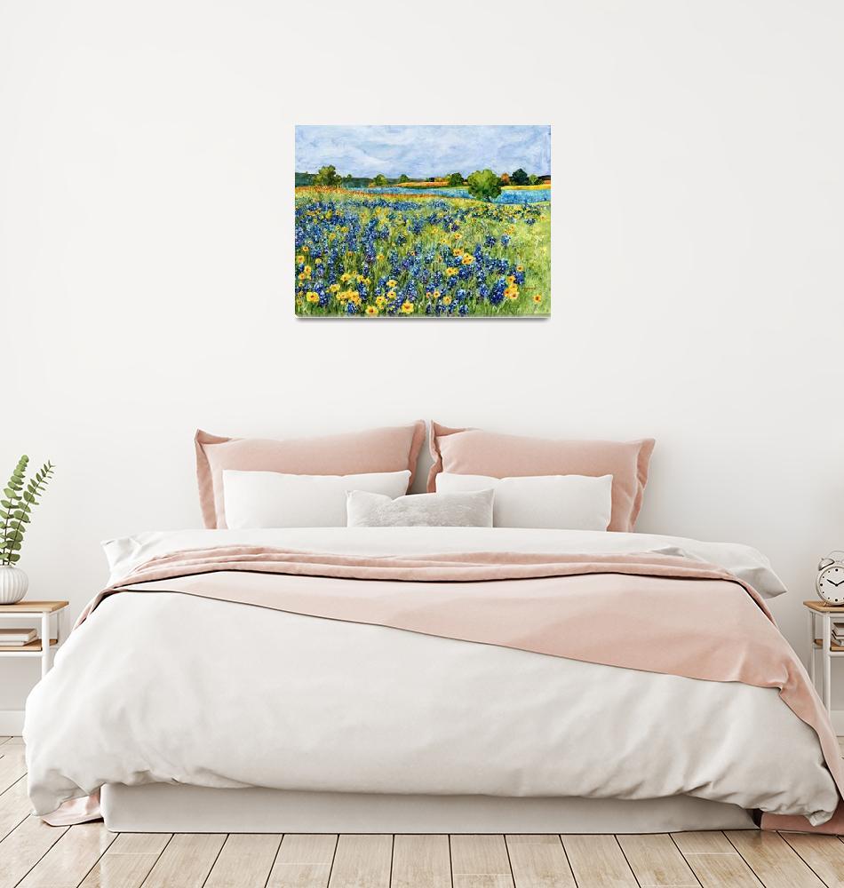 """Painted Hills""  (2015) by HaileyWatermedia"