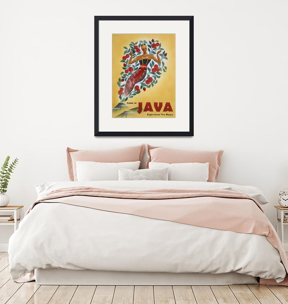 """""""Come to Java""""  (2001) by cocomasuda"""
