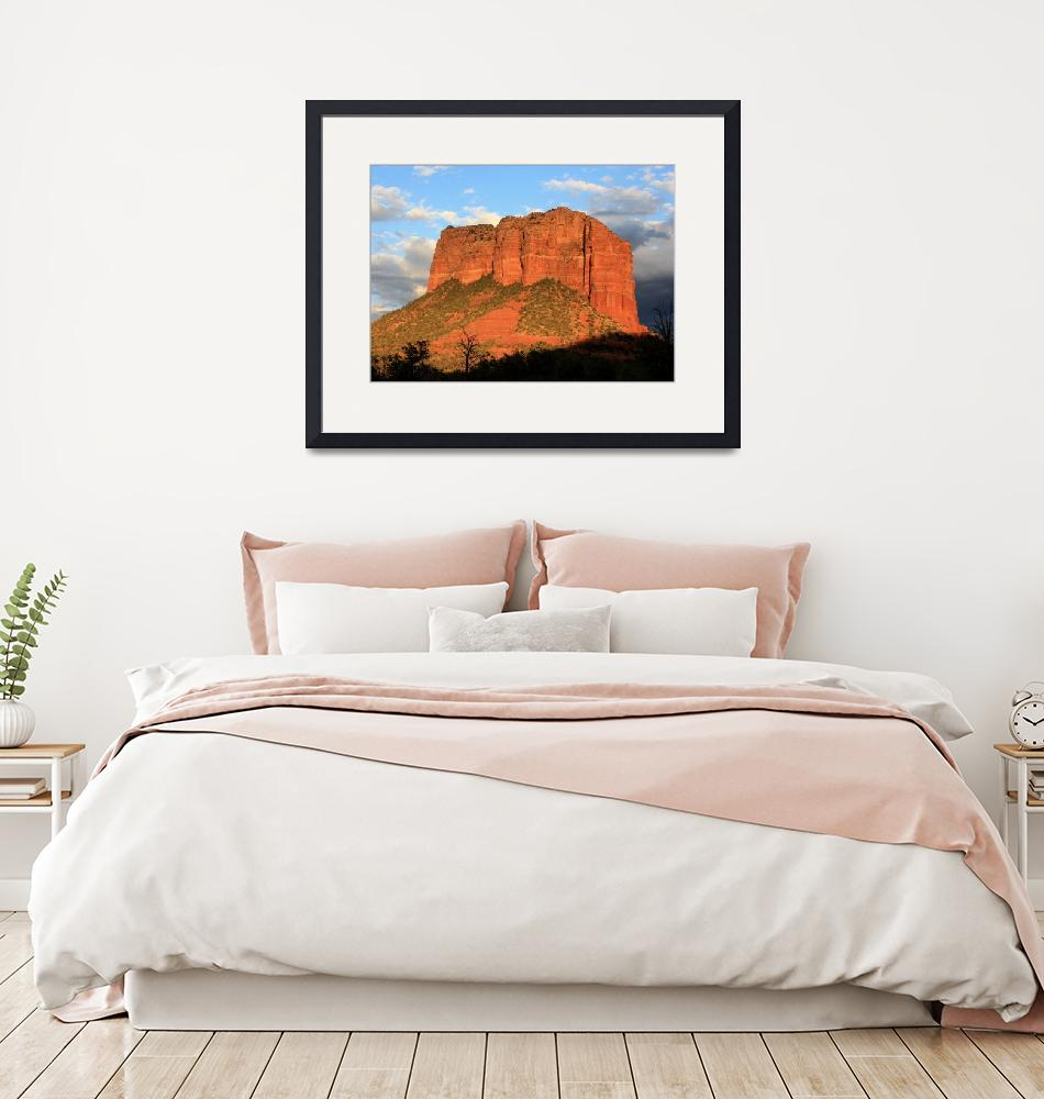 """""""As the Sun Sets in Sedona"""" by Groecar"""