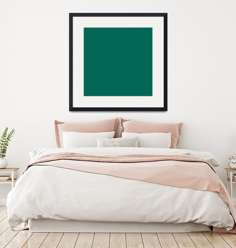 """Square PMS-336 HEX-006854 Green""  (2010) by Ricardos"