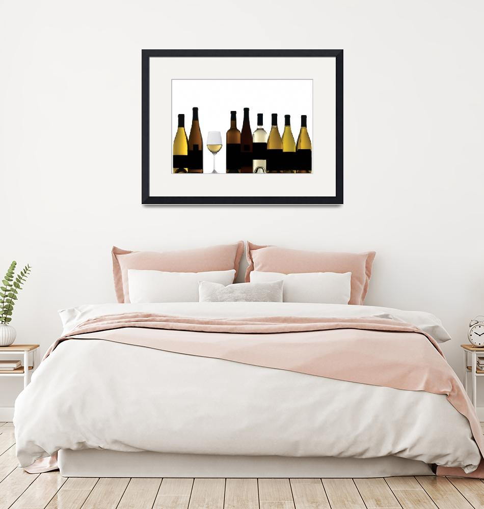 """White Wines""  by winecountrycreations"