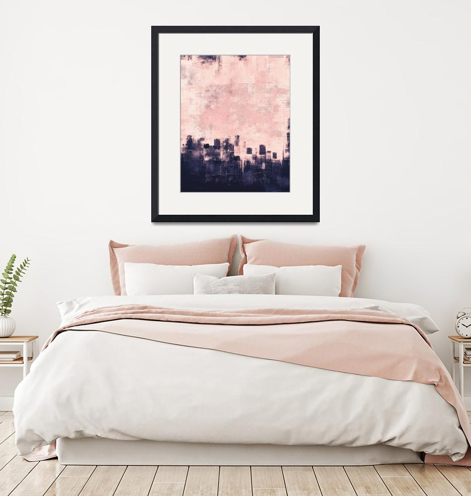 """""""138th street pink navy""""  (2020) by EmericoStyle"""