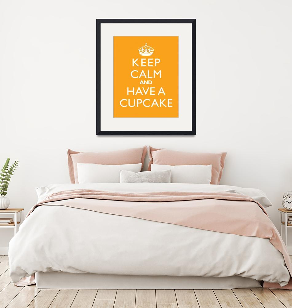 """Keep Calm and have a cupcake MANGO""  by cjprints"