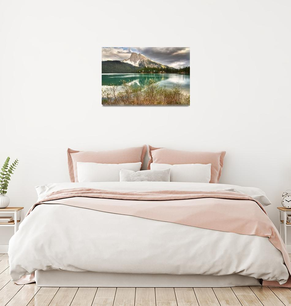 """""""Emerald Lake and Mount Burgess, Yoho NP""""  by Pats_Piks"""