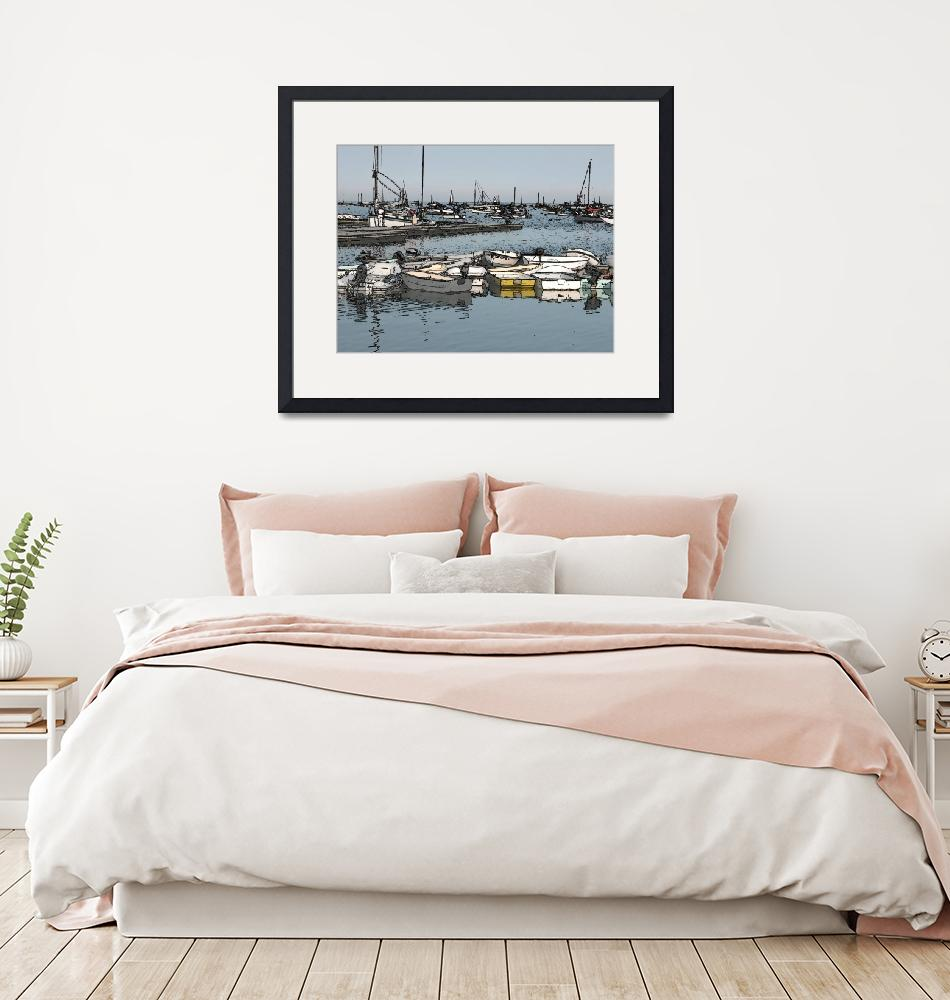 """""""Smallboats""""  by EdgewaterGallery"""