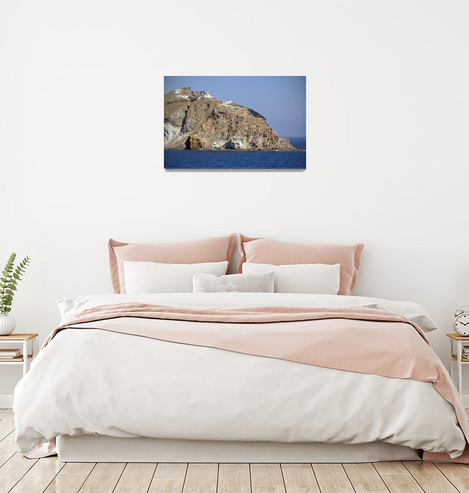 """The Island of Santorini, Greece""  (2009) by ChrisSeufert"