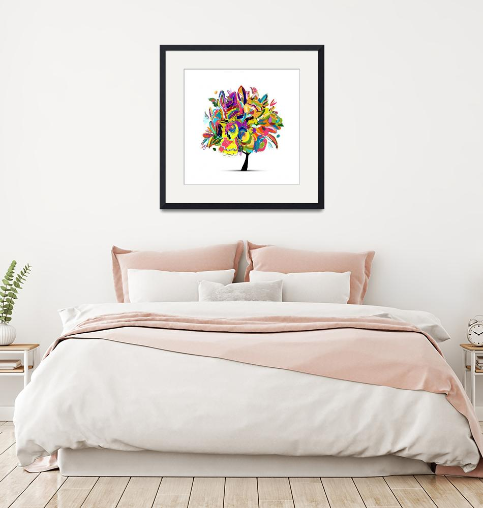 """""""Jules Art Collection Framed Print""""  by buddakats1"""