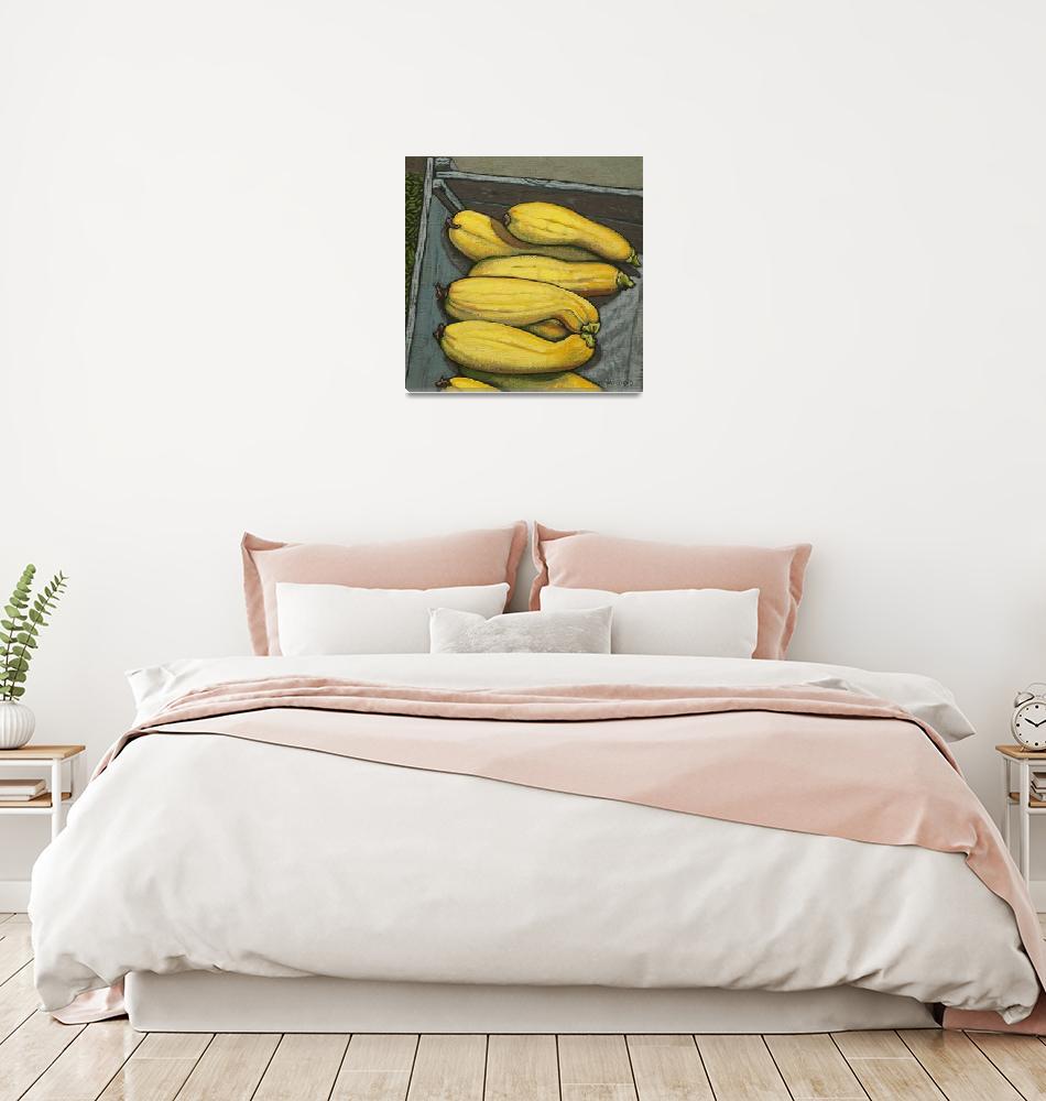 """""""Yellow Zucchini""""  by wolodko"""