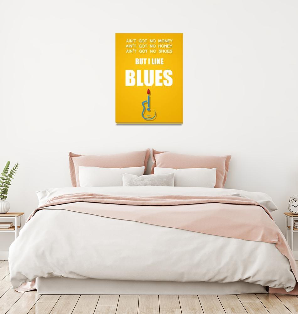 """I like blues""  (2011) by HelloToYouAll"