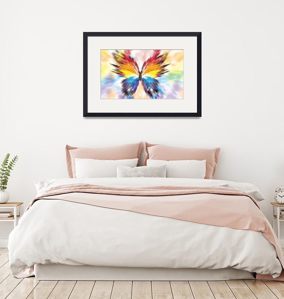 """""""butterfly abstract""""  (2017) by patsphotos"""