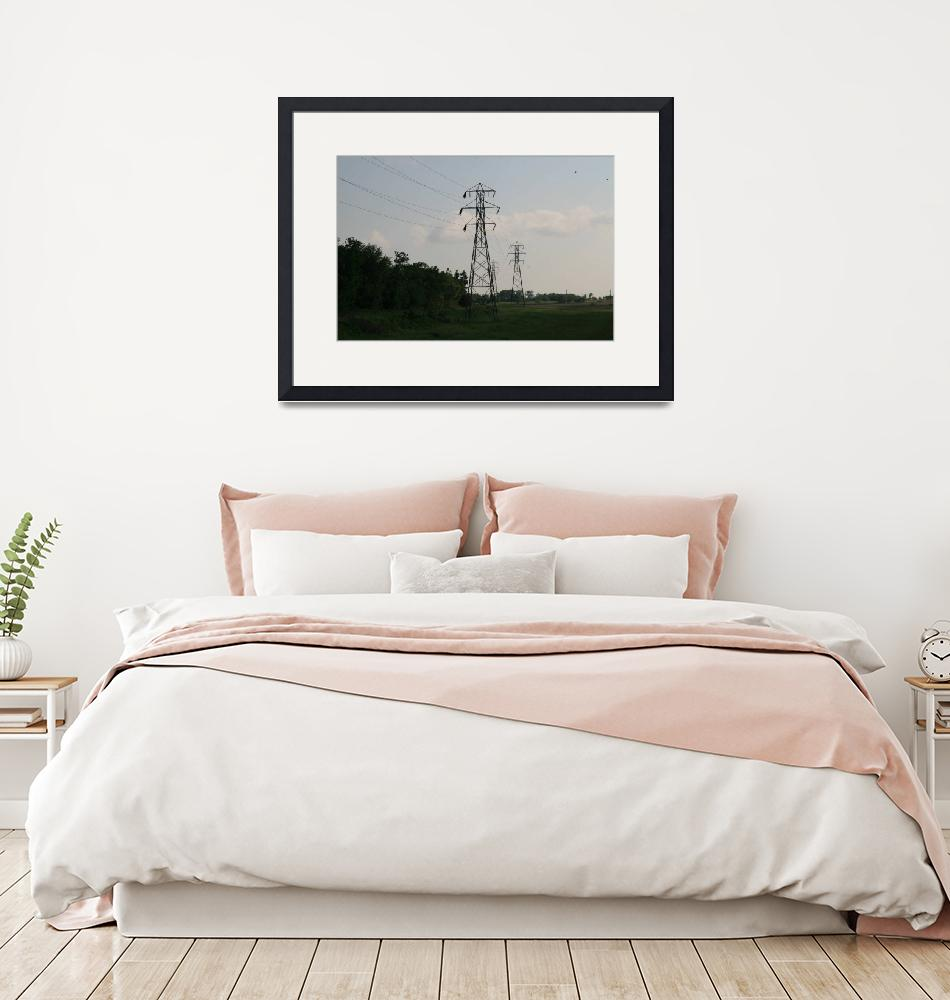 """""""Topeka-Atchison Transmission Line Rounding Corner""""  (2006) by TheElectricOrphanage"""