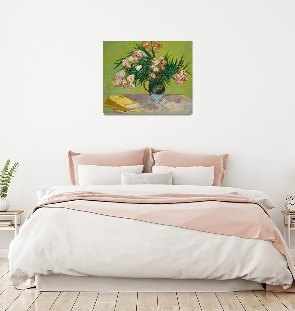 """""""Oleanders by Vincent Van Gogh""""  by FineArtClassics"""