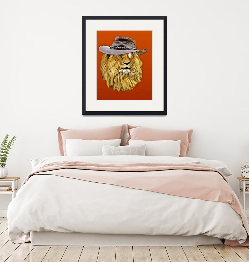 """""""lion""""  (2017) by katerinagalle"""