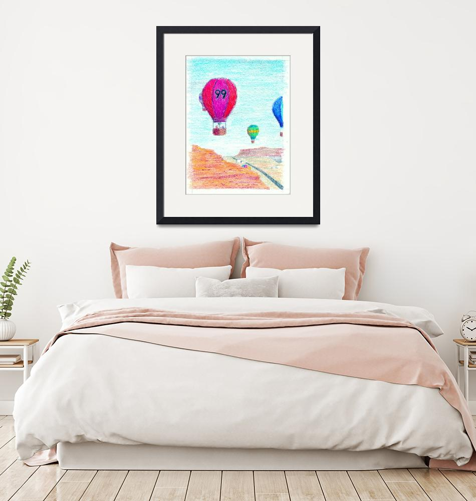 """""""balloons"""" (2014) by Artpixie"""