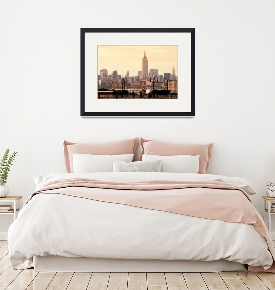 """The Empire State, New York Skyline""  by SanjayNayar"