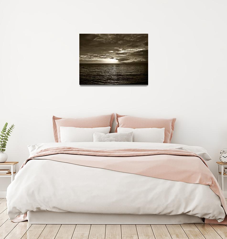 """monochrome sunset no. 6""  (2010) by sunsetcolors"