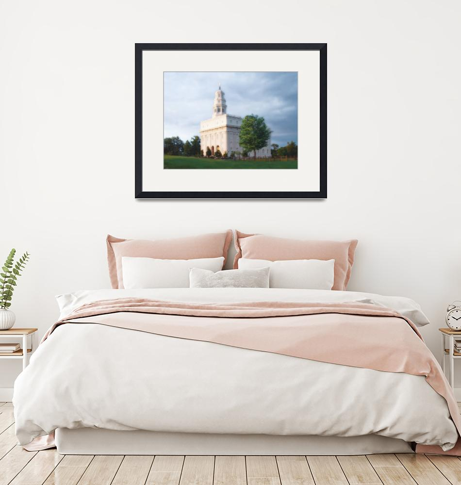 """Nauvoo Temple / Summer""  by TerrySpringer"