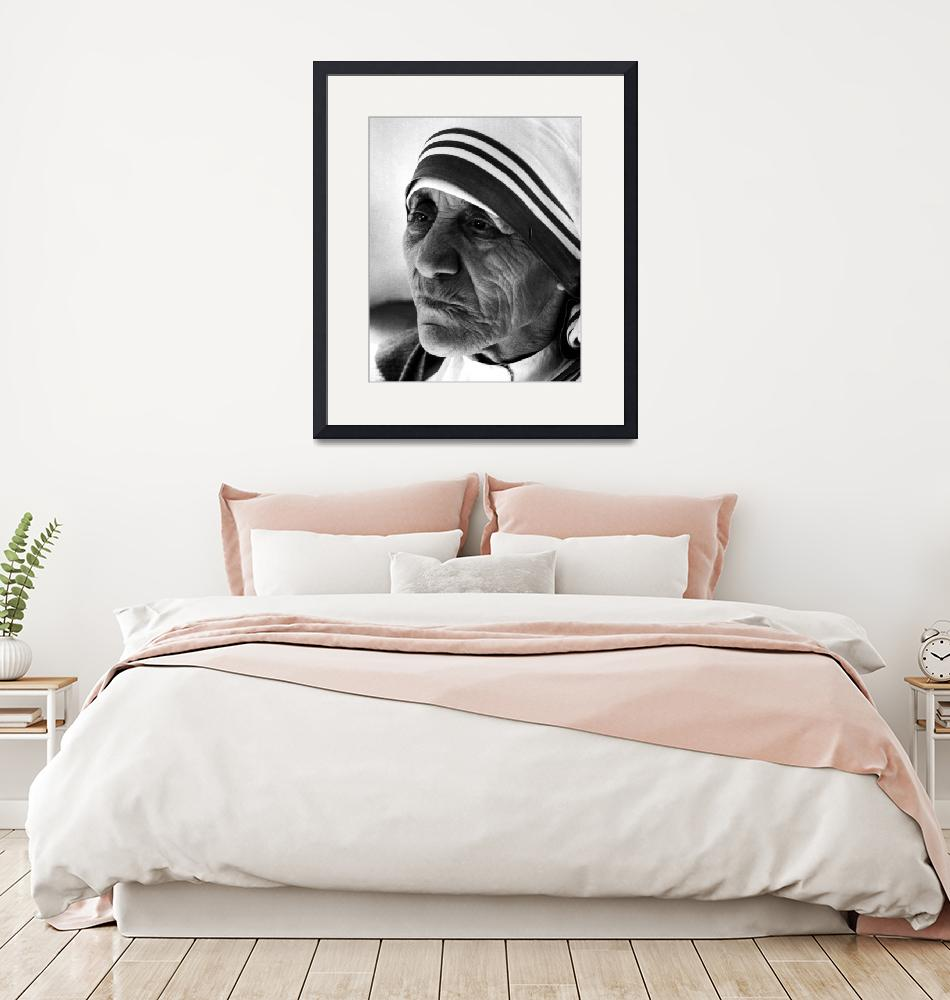 """""""Mother Teresa close up""""  by RetroImagesArchive"""