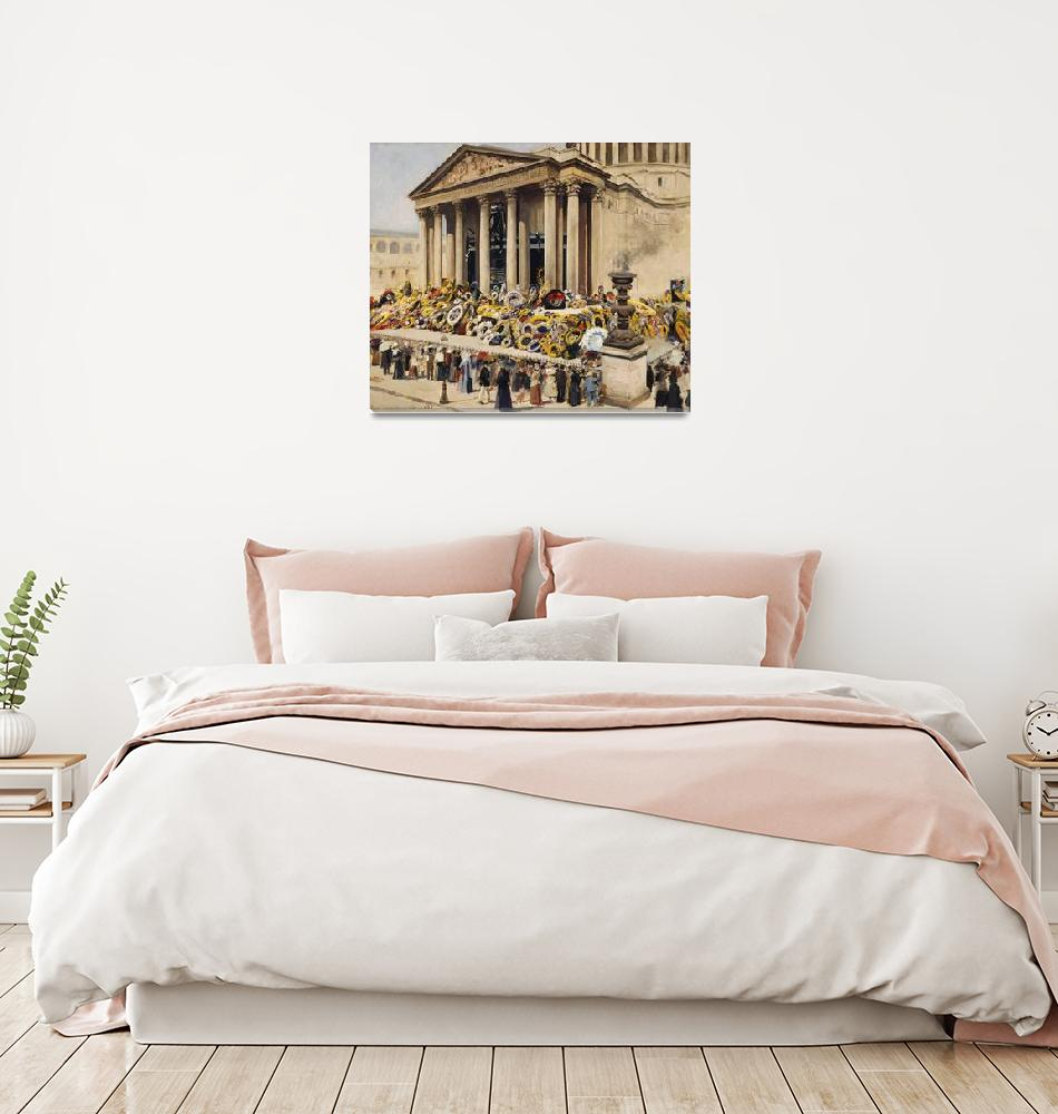 """Jean Paul Sinibaldi~Pantheon, Victor Hugo state fu""  by Old_master"