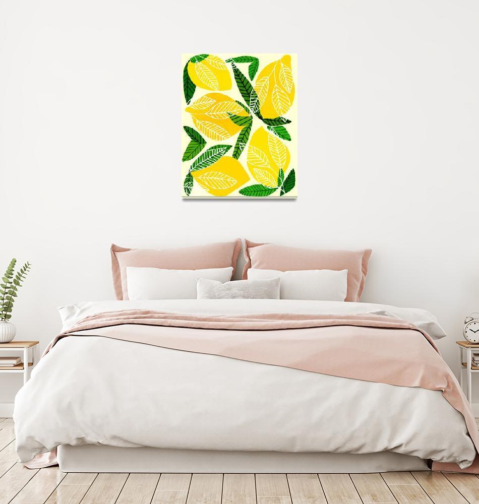 """Lemon Tree""  (2019) by moderntropical"
