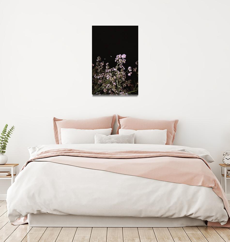"""Night Cherry Blossom Tree by Karen Ivette Zaldana""  (2014) by Studio526"