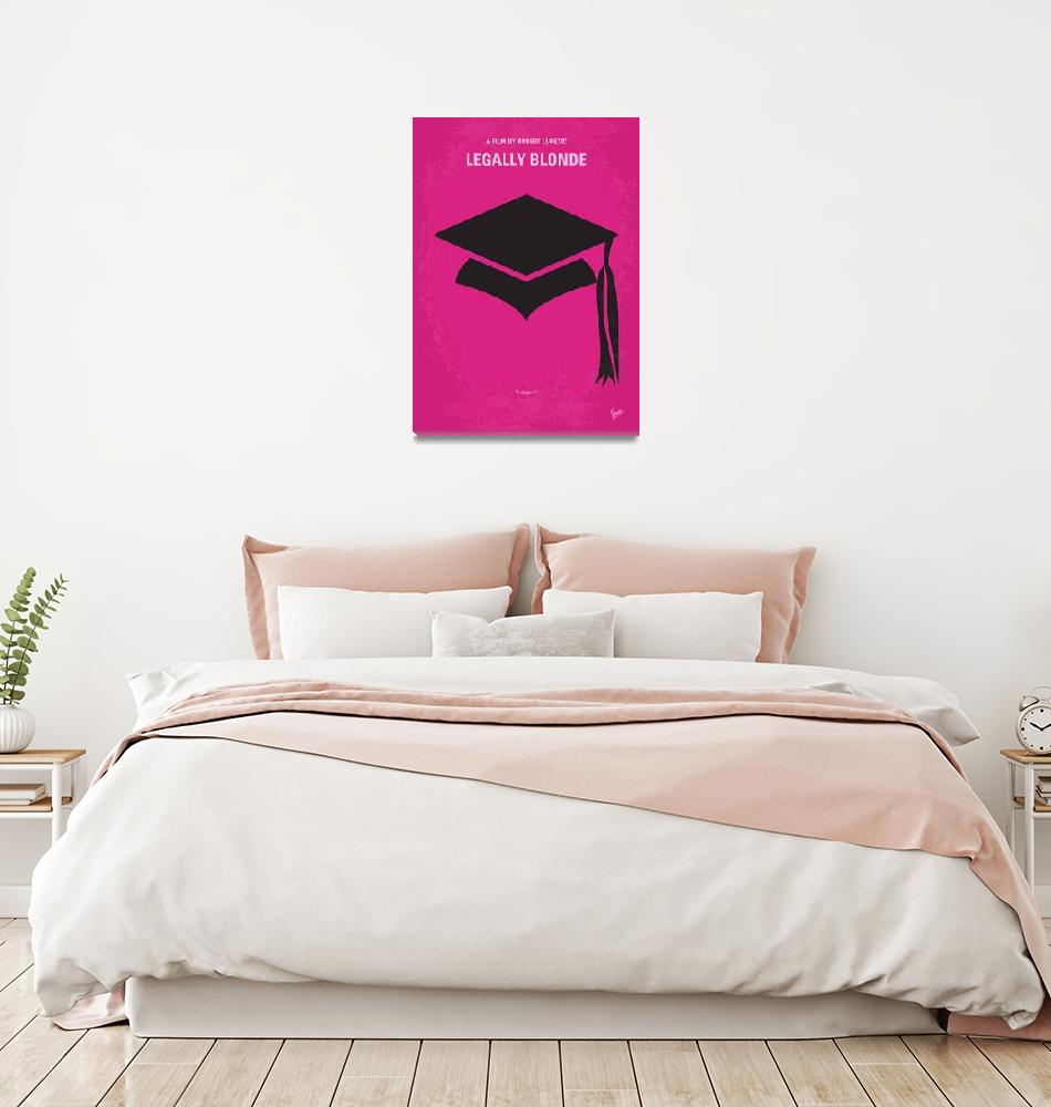 """""""No301 My Legally Blonde minimal movie poster"""" by Chungkong"""