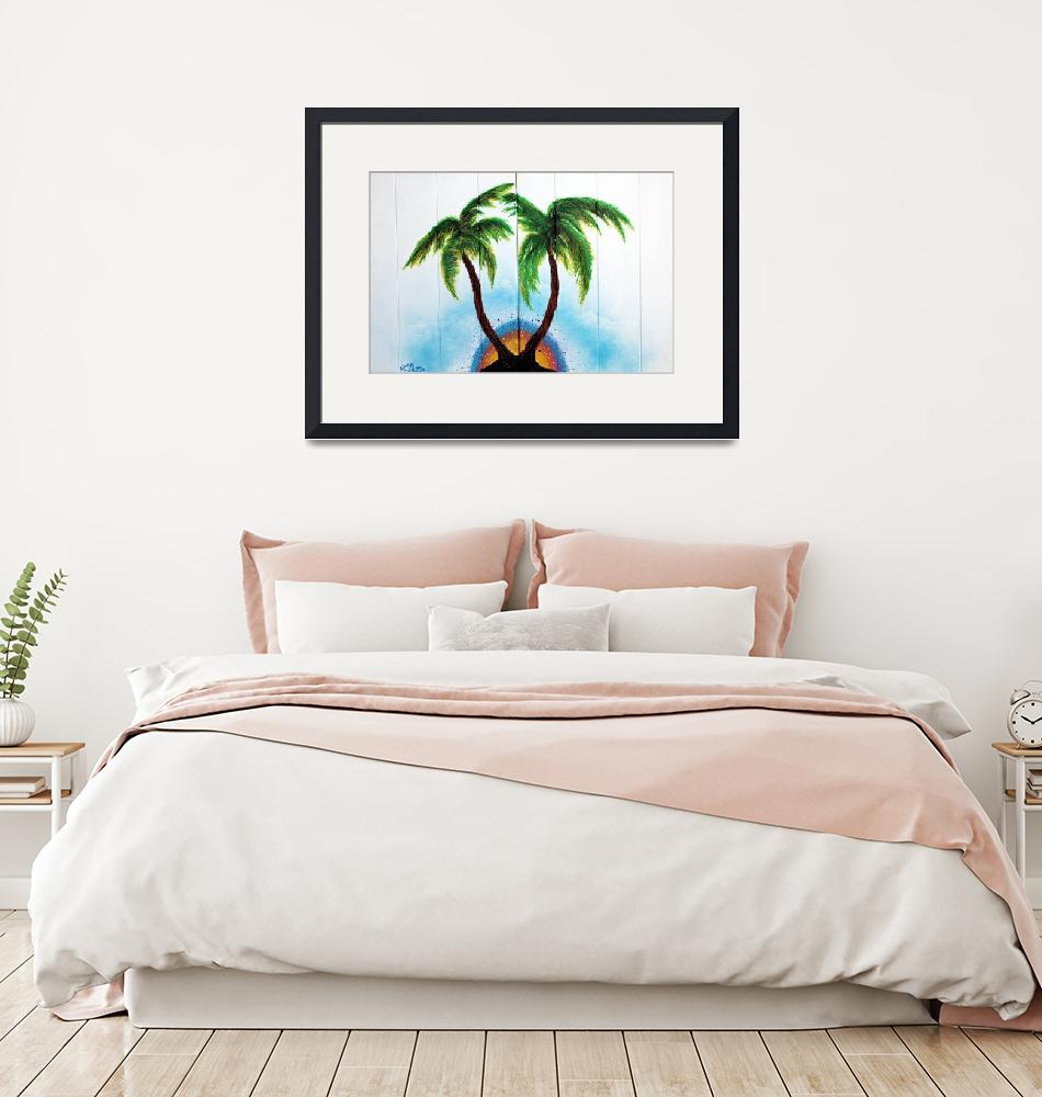 """Country Palm Trees""  (2015) by ArtPrints"
