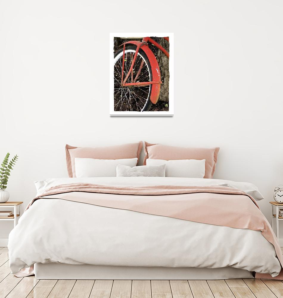 """""""The Red Bicycle""""  (2008) by RLPerdue"""